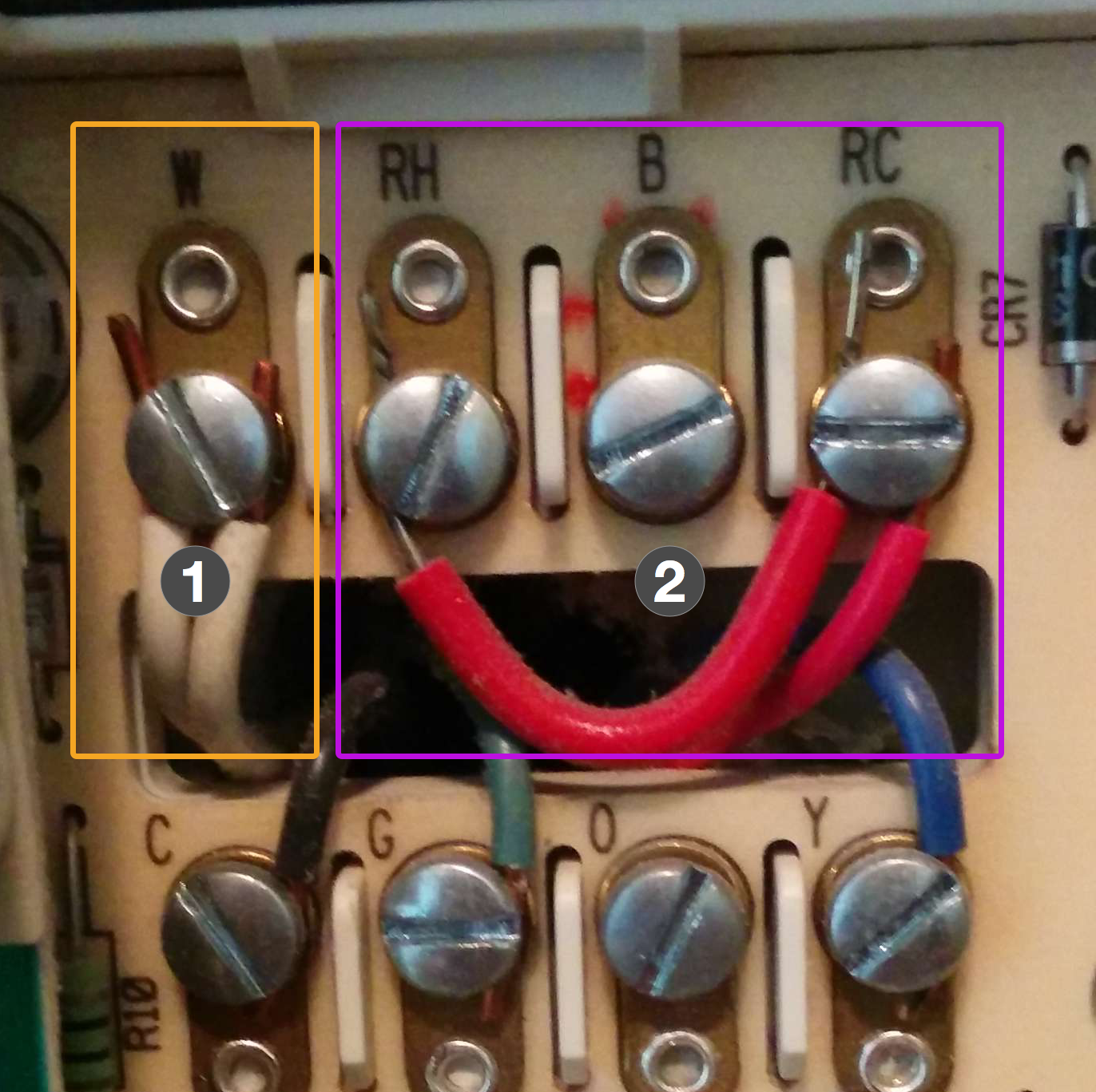 Wiring Diagram For White Rodgers Thermostat Model 1f78 : Wiring up a nest